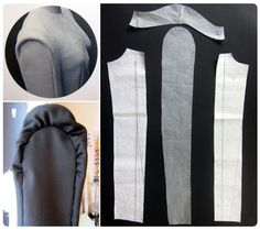 Behind the Seams with Marina von Koenig: The Making of a Couture Top – Sewing…These sleeves on a classic shift dress in red cotton. Sewing Blogs, Sewing Tutorials, Sewing Tips, Sewing Hacks, Sewing Ideas, Sewing Projects, Fashion Sewing, Diy Fashion, Clothing Patterns