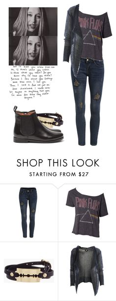 """""""Violet Harmon - ahs / american horror story"""" by shadyannon ❤ liked on Polyvore featuring Floyd, McQ by Alexander McQueen and MANGO"""