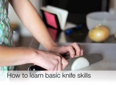 How To Master Basic Knife Skills: The Video — Cooking Lessons from The Kitchn | The Kitchn