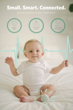 Introducing the Owlet Smart Sock. Designed to alert you if your baby stops breathing, Owlet is silently watching over your little one to give you peace of mind, and maybe even a full night's sleep.