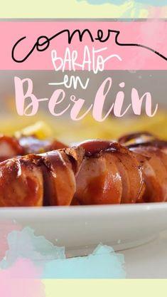 8 restaurantes donde comer en Berlín bien y barato Eurotrip, Hot Dog Buns, Travel Tips, Good Food, Trips, Recipes, Germany, Wanderlust, Europe