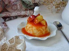La Chef A: Pastelitos de sémola con coulis de sandía y fruta caramelizada - ELR3TO