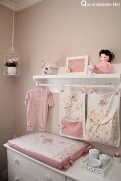 pink, room, and clothes image Baby Bedroom, Girls Bedroom, Bedroom Decor, Kawaii Room, Room Goals, Pink Room, Beauty Room, New Room, Room Inspiration