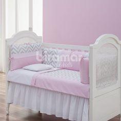 kit-enxoval-de-berco-8-pcs-para-bebe-lollipop-chevron-rosa