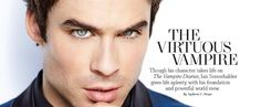 By Andrew C. Stone  If all celebrities took a cue from Ian Somerhalder and used their notoriety to...