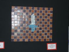 Roman Mosaics_Y3_ Individual work_ Discuss about patterns and add a design in the middle _Roman  sword