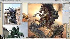 """Ilustración para el artbook de la convención de cómics """"La Mole"""" edición noviembre de 2012."""