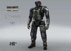 I've already spoken a little of my love for this game's art design, but today I'm going to showcase a much wider range of work from a team of artists who worked on Call of Duty: Infinite Warfare.
