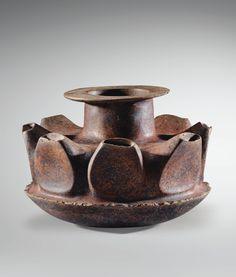 Vase en forme de coloquinte Culture Colima Mexique occidental Protoclassique, 100 av. J.-C.-250 ap. J.-C.