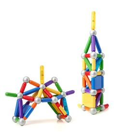 Love this Ultimate Build & Light Magnetic Building Set on #zulily! #zulilyfinds