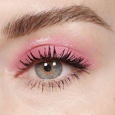 Glossy pink lids