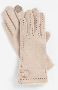 iPhone gloves in black or ivory, don't care.