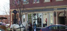 Fredericksburg Visitor Center showcases brochures, maps and local art