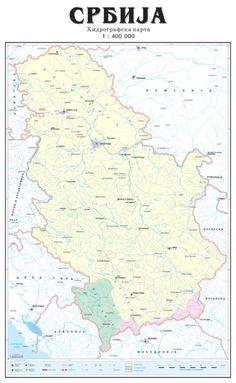 tomtom mapa srbije Karta Srbije   Mapa Srbije | karte Srbije | Pinterest tomtom mapa srbije