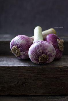 fresh garlic...