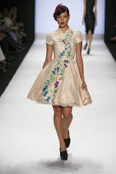 One of my favorite Project Runway dresses from my favorite Project Runway designer, Kenley Collins
