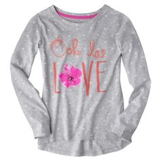 Cherokee® Girls' Tee - Heather