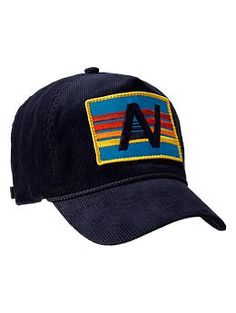 Gap x GQ Aviator Nation Corduroy Trucker Hat - Gap has created an exclusive menswear collection with GQs Best New Designers.  Aviator Nation Inspired by a cool 70s California vibe, Paige Mycoskie develops her own fabric washes and graphics, giving her collection an authentic, lived-in vintage feel.