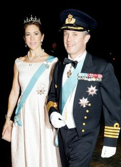 HRH Prince Frederik and HRH Princess Mary Elizabeth of Denmark