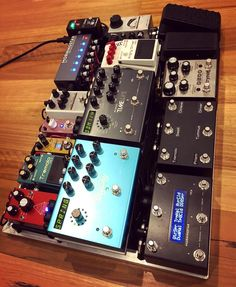 Made some changes to the main board including putting a @jimdunlopusa #miniwah on there and the @jacksonaudio #prism. @bossfx_us and…
