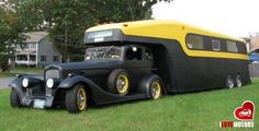 Camping in style...