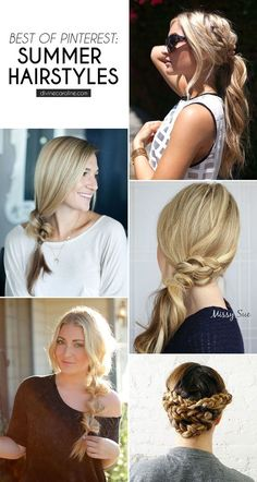 Hair Style Inspiration :   Illustration   Description   Get the hair off your neck this summer with these unique and EASY summer hairstyles, courtesy of Pinterest! #besthairstyles #easyhair #summerhair #hair    -Read More –   - #HairStyle https://adlmag.net/2017/10/19/hair-style-inspiration-get-the-hair-off-your-neck-this-summer-with-these-unique-and-easy-summer-hairsty/