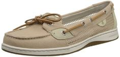 awesome Sperry Top-Sider Women's Angelfish Open Boat Shoe,Tan,5 M US
