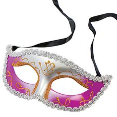 Purple and Silver Elegance Masquerade Mask are a unique addition to your event. These elegant masks are perfect for decorating tables, creating centerpieces, or using as favors.