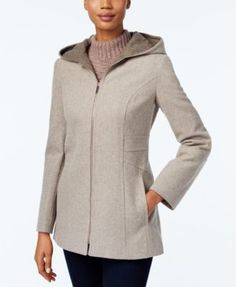 Kingfield Fleece Coat, Hooded | Clothing and Shoes | Pinterest ...