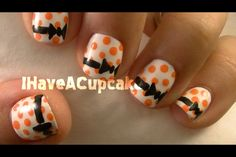 IHaveACupcake Halloween nails