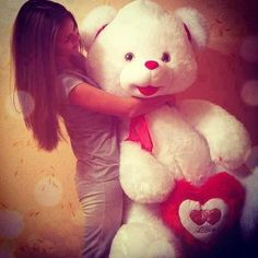 Sweet Cute Teddy Bear Girls Profile Pictures - DPs - Stylish DP's And Covers For FaceBook