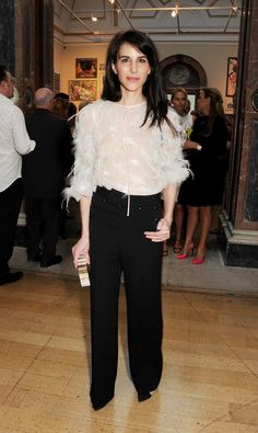 Caroline Sieber at the Royal Academy of Arts Summer exhibition in ...
