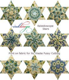 Inklingo Kaleidoscope Stars