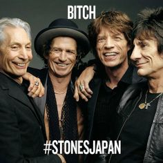 Like or Share to vote for the Rolling Stones to play BITCH at the Tokyo Dome tonight! #ストーンズ来日#StonesJapanリツィートで1票!ストーンズに「ビッチ」を演奏してほしい!