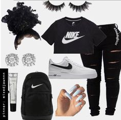 pick your 🤑 fit ———————————. Swag Outfits For Girls, Cute Swag Outfits, Teenage Girl Outfits, Cute Comfy Outfits, Pretty Outfits, Stylish Outfits, Baddie Outfits Casual, Boujee Outfits, Casual School Outfits