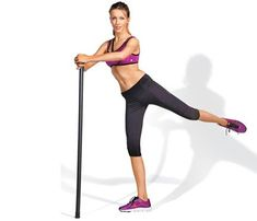 Aerobarre: 7 Moves To Your New Sexy Body: Workouts: self Leg And Ab Workout, Bar Workout, Killer Workouts, Quick Workouts, Body Workouts, Pilates, Boxing Drills, Body Bars, Fitness Nutrition