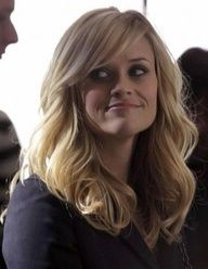 reese, side bangs and med hair. Love the style with darker hair