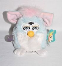 Furby Babies Blue & Pink Tiger Electronics 1999