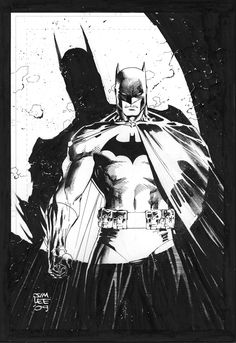 Spotlight on Batman by Jim Lee Jim Lee Batman, I Am Batman, Batman Robin, Superman, Comic Book Artists, Comic Artist, Comic Books Art, Batman Und Catwoman, Batgirl