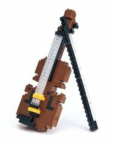 KAWADA nanoblock collection Violin NBC-018 by Ohio Art. $8.52. Challenging three-dimensional puzzle with amazingly small sized building blocks. Nanoblock Violin - from the Miniature Collection. Join in the Japanese 3D mini modelling block craze sweeping the world. 150+ miniature building blocks. Full assembly instructions. Enter the ever expanding 'nanoverse' with this miniature Violin nanoblock sculpture! The nanoblock 'Miniature Collection' includes a wide rang...