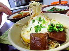 台北萬華美食小吃‧阿伯蛋包麵From大台灣旅遊網