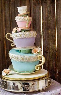 Cake Wrecks - Home - Sunday Sweets: 10 Wonderland Wedding Cakes
