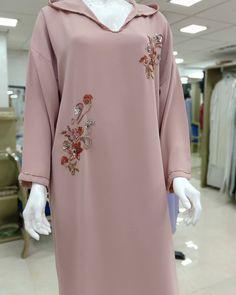 Image may contain: people standing Abaya Designs, Mode Abaya, Mode Hijab, Hijab Fashion, Fashion Outfits, Hijab Stile, Beaded Embroidery, Traditional Outfits, Frocks