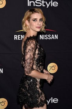09/09 l Emma Roberts at the HFPA & InStyle annual celebration of Toronto International Film Festival, Toronto.