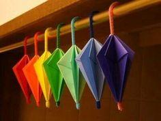 Limpia pipas solo con tus manos dale forma al paraguas y pegalo lito
