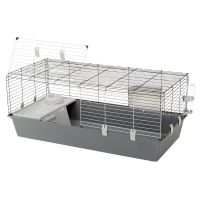Grey Rabbit Guinea Pig Hutch Cage Cages Outdoor Indoor Run Play Large Pets New Grey Rabbit Guinea Pig Hutch Cage Cages Outdoor Indoor Run Play Large Pets New. Ferplast Rabbit & Guinea Pig Cage 120 is a spacious cage for dwarf rabbits and guinea pigs. Bunny Cages, Rabbit Cages, Diy Guinea Pig Cage, Guinea Pigs, Indoor Rabbit Cage, Dwarf Rabbit, Plastic Animals, Pet Accessories, Your Pet