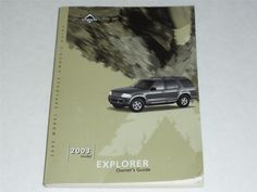 2003 Ford Explorer Owners Manual Book