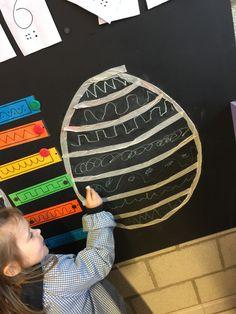 Visual Motor Activities, Childcare Activities, Fine Motor Activities For Kids, Preschool Themes, Easter Activities, Spring Activities, Easter Crafts For Kids, Infant Activities, Classroom Crafts