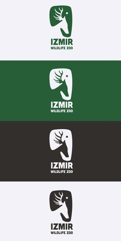 Izmir Wildlife Zoo // Corporate Identity by Can Aviral, via Behance