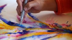Bockingford Paper / Derwent Graphik Line Painter Workshop with Carne Griffiths - www.carnegriffiths.com